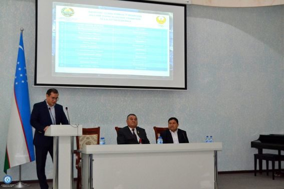 A conference dedicated to the results of the 4-year cycle was held in Navoi