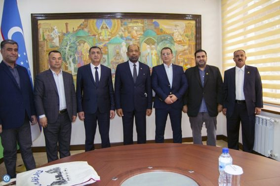 Deputy major of Samarkand region met with the Secretary General of the Asian Swimming Federation