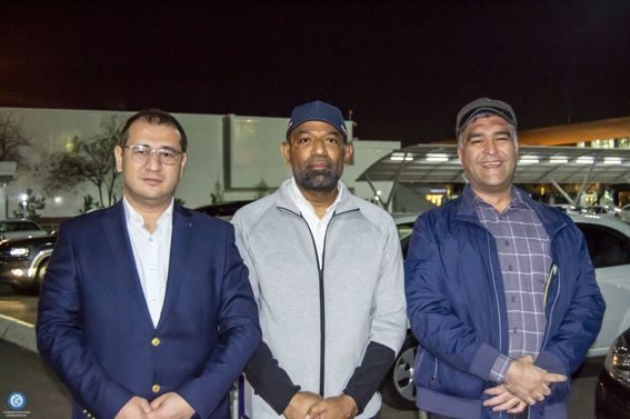The delegation of the Asian Swimming Federation arrived in Tashkent with a working visit.