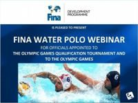 Water polo webinar was organised by FINA with invited judges
