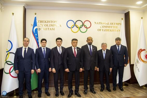 The National Olympic Committee hosted a business meeting between the working delegation of the Asian Swimming Federation and the leadership of the National Olympic Committee of Uzbekistan.
