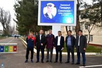 Doctor Genadijus Sokolovas has visited the Uzbek State University of Physical Culture and Sports