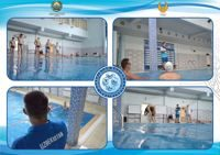 Swimmers started training in the pool