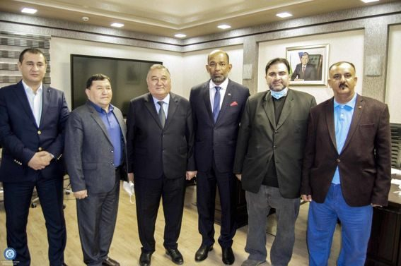Chairman of the Uzbekistan Swimming Federation have met with the Secretary General of the Asian Swimming Federation